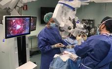 La Arrixaca incorpora un microscopio quirúrgico que permitirá duplicar las intervenciones de Neurocirugía