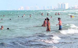 El Mediterráneo alcanza casi los 30 grados, entre 3 y 4 más de lo habitual