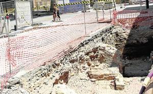 Estudian hacer visibles los restos arqueológicos hallados