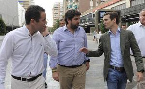 Teodoro García: «Pablo Casado volverá y se bañará en el Mar Menor»