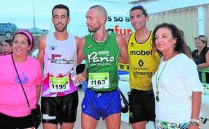 Caparrós y Esther Sánchez ganan en Perín