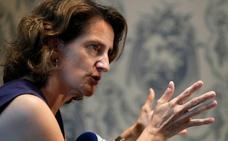 Teresa Ribera avisa de que «si vaciamos la cabecera no puede haber trasvase»