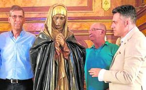 Cultura restaurará la imagen de la Virgen de la Soledad de los Pobres