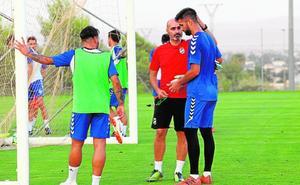 Primera sesión del nuevo Lorca FC de Tato