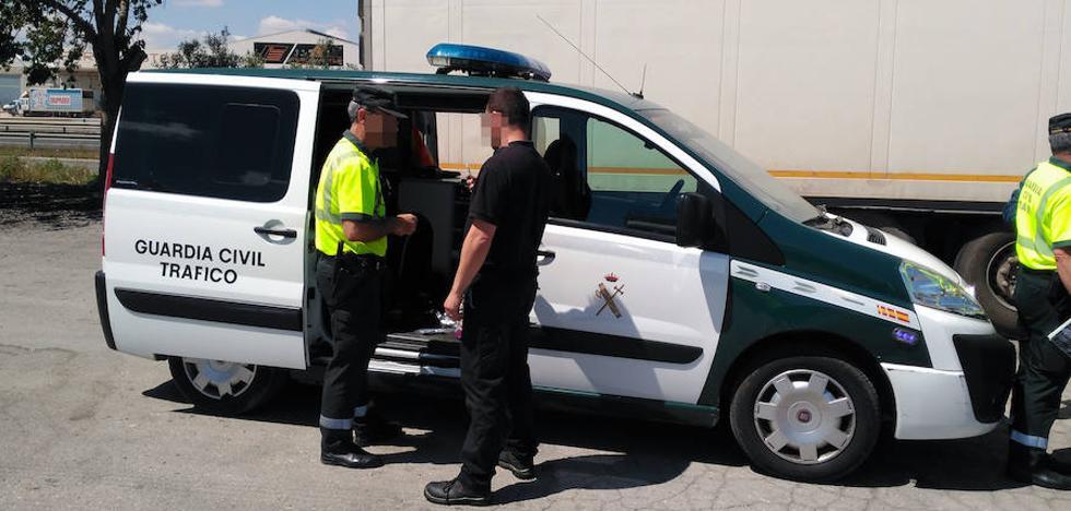 Detenido un camionero en Espinardo que septuplicaba la tasa de alcohol