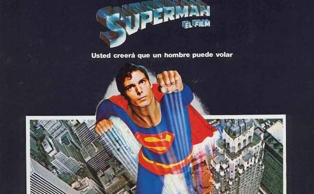 Cartel de la película 'Superman'.