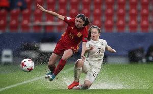 El gol de Eva Navarro contra Alemania, nominado como uno de los mejores del año