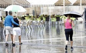 Las tormentas de granizo amenazan el puente de agosto en la Región