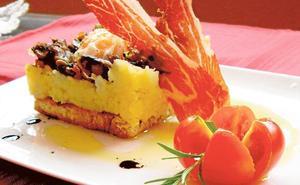 Pastel de patata y huevo