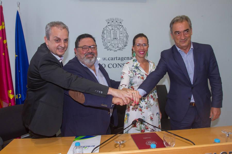 El Jimbee Cartagena aspira a «ganar la Liga»