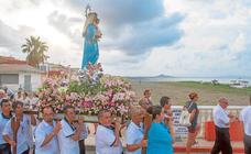 La Asunción abre sus brazos al Mar Menor en Los Nietos