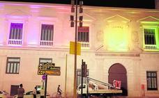 El Almudí lucirá en la Feria una iluminación de colores como la del Moneo