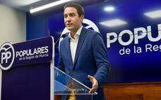 Teodoro García: «He tenido que llevar un cargamento importante de oliva de Cieza a Madrid»