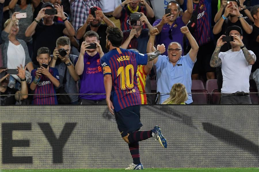 Las mejores imágenes del Barça-Alavés