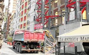 La construcción incorporó a nueve trabajadores más al día en un año