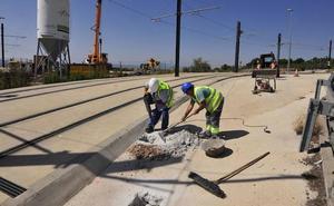 El tranvía de Murcia variará el servicio los dos últimos domingos de agosto