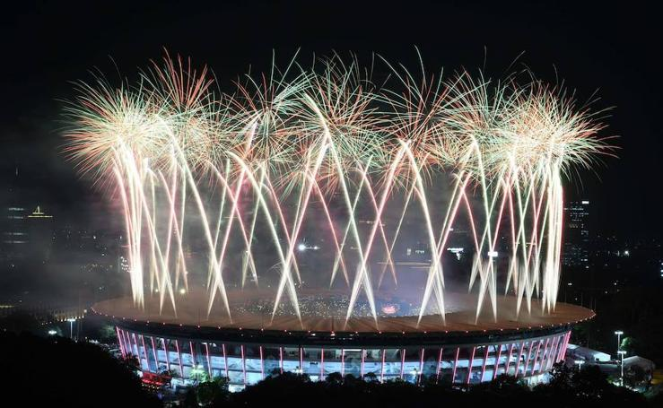 Fiesta del deporte asiático