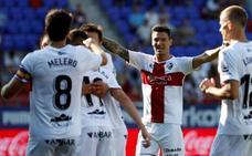 El Huesca debuta en Primera con victoria