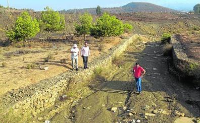Piden limpiar la rambla de Mendoza y evitar escorrentías al Mar Menor