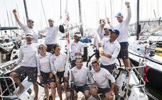 El 'Pez de Abril', Premio Nacional de Vela Terras Gauda al barco del año