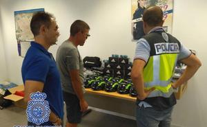 Recuperan más de un centenar de artículos robados del Valverde Team valorados en 11.000 euros