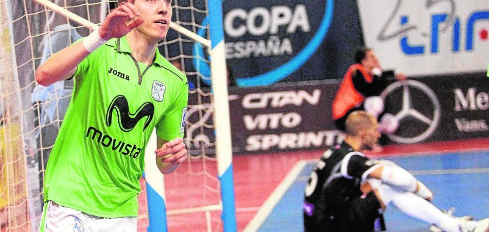 El Jimbee Cartagena arranca fichando al ala brasileño Bateria, ex de Inter y Barça