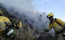 La mano del hombre está detrás de más de la mitad de los incendios forestales en la Región