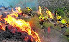 La Región salva la peor fase de fuegos con solo cuatro de más de una hectárea
