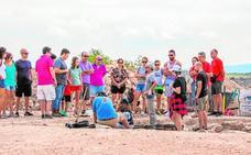Alumnos de la UMU hallan un posible ninfeo en la villa romana de Los Cantos