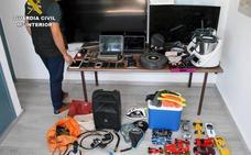 Detenido por una veintena de robos en viviendas del Mar Menor