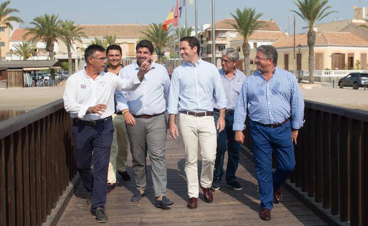 El PP celebra un acto público en Los Alcázares