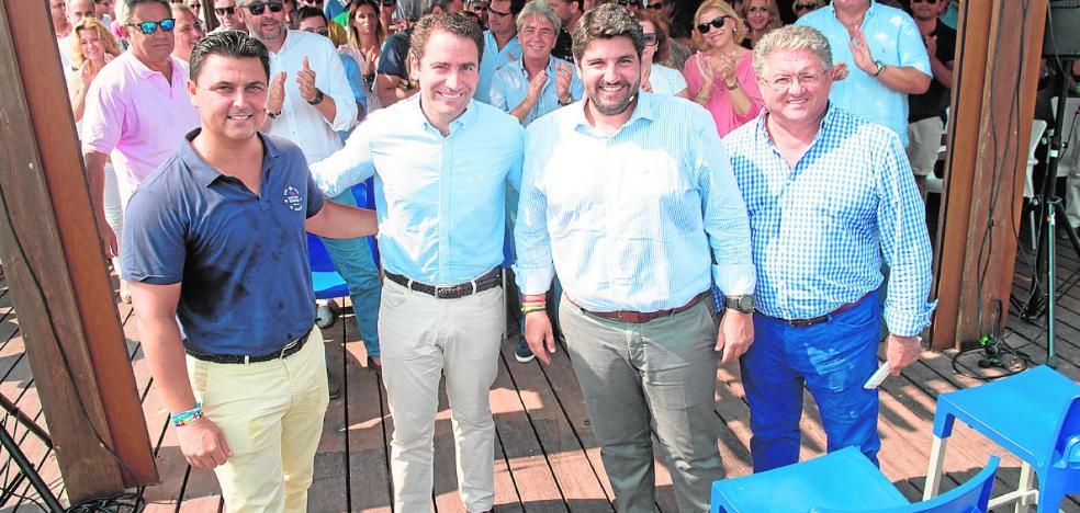 García Egea denuncia que el AVE a Murcia «será un pato cojo»