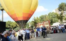 Globos aerostáticos sobrevolarán Murcia durante la Feria