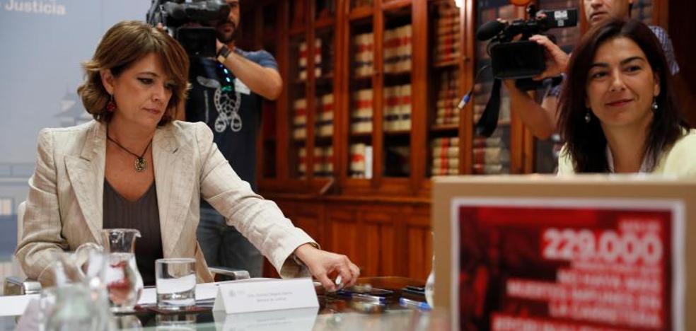 El PP exige el cese de la ministra de Justicia y promoverá su reprobación en el Senado