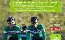 Juegos y diversión solidaria con la llegada de la Vuelta mañana a la Región