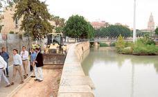 Un nuevo paseo fluvial «volará» sobre el Segura