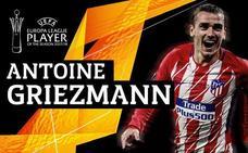Griezmann, mejor jugador de la Europa League