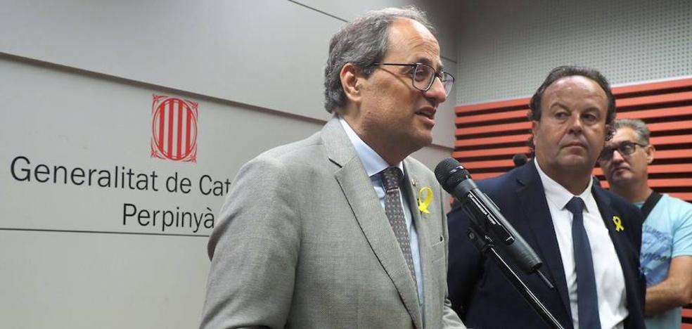 El Gobierno reclama a Torra «inteligencia» en puertas del otoño caliente catalán