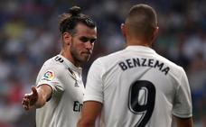 Benzema y Bale disfrutan asumiendo el rol de Cristiano