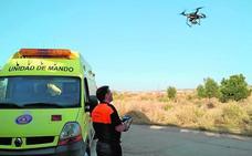 Drones y perros para buscar a María Ignacia