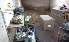Intervenidas 19 toneladas de tabaco de contrabando en una operación iniciada en Lorquí
