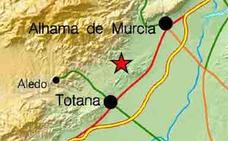 Un temblor de 2 grados sacude Totana