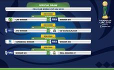 El Real Madrid se enfrentará al Chivas mexicano o al campeón de Asia en el Mundial de Clubes