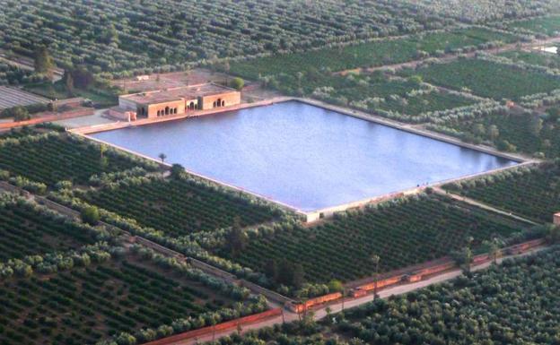 El Agdal, la finca real situada en Marrakech (Marruecos), de similar traza a la excavada estos días en Monteagudo.