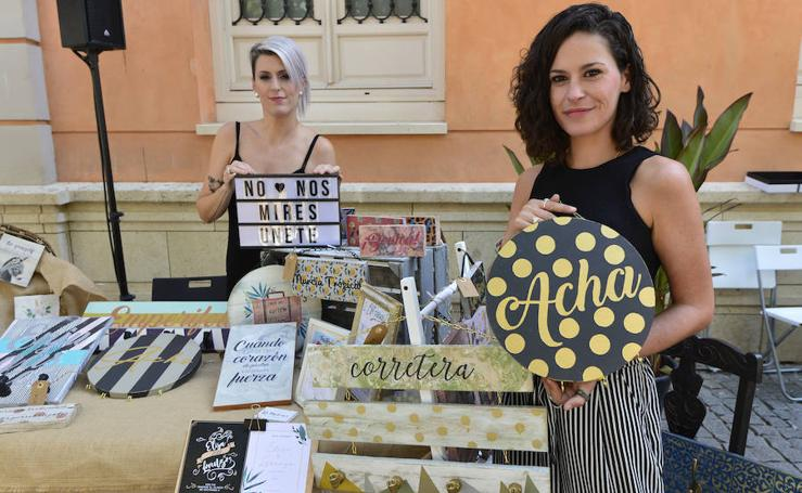 La plaza del Romea, escaparate para el diseño 'Made in Murcia'