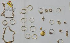 Detenida en Pliego por la sustracción de joyas a la mujer que cuidaba