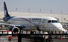 Despedidos los tres pilotos de avión que se desplomó en el norte de México