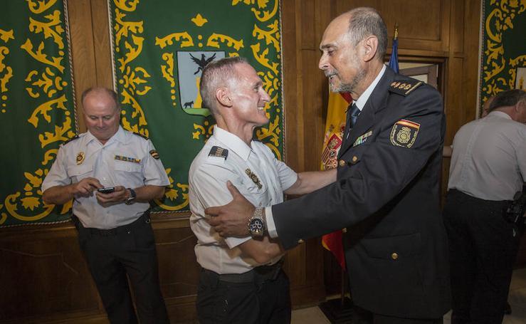 Damián Romero toma posesión como nuevo comisario de la Policía Nacional en Cartagena
