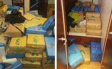 El velero interceptado en Cartagena transportaba hachís por valor de 11 millones de euros