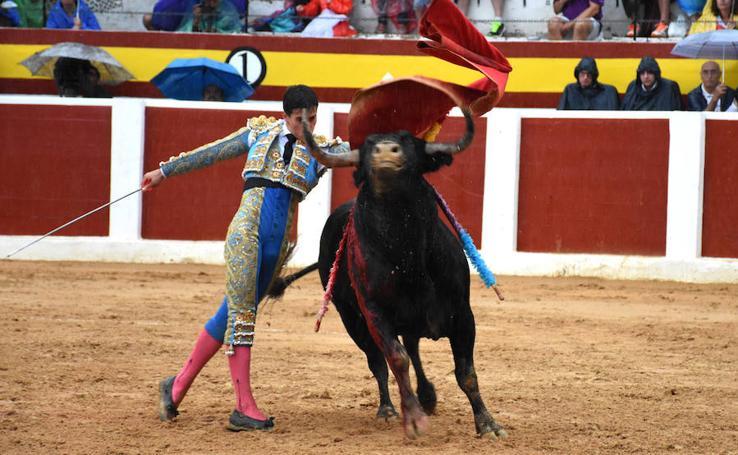 Faena artística de García Navarrete en el último festejo de Calasparra